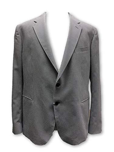 Armani Collezioni jacket in grey and white check size 48R Cotton
