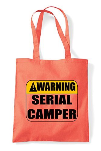 Statement Gaming Serial Multiplayer Bag Pvp Shopper Coral Tote Warning Camper Online YZqwqUX