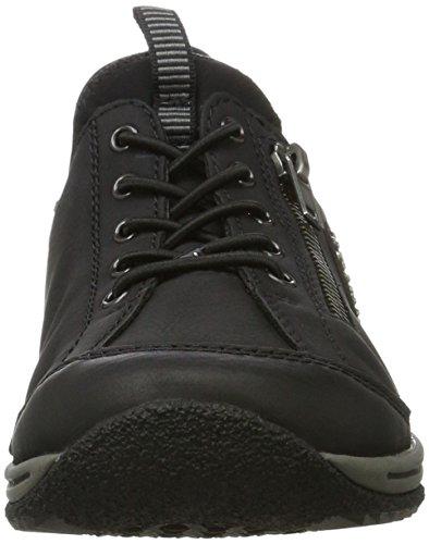 EU L5263 Noir Rieker 36 Femme Basses Sneakers C6gqF1