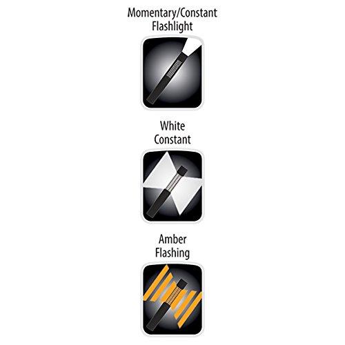 Nightstick NSP-1174 LED Safety Light & Flashlight - White & Amber Floodlight