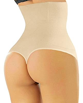 SHAPERQUEEN 102 Women Waist Cincher Girdle Tummy Slimmer Sexy Thong Panty Shapewear
