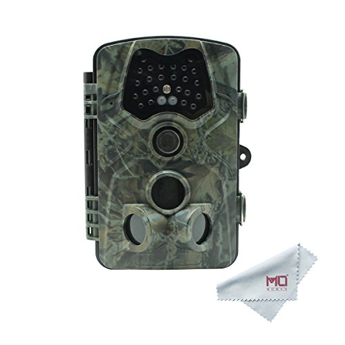 Cheap 2018 Moman Game Hunting Trial Camera 1080P 12MP with 120° Detection, 66ft Night Vision Infrared, Waterproof Design, LCD Display for Wildlife Surveillance, Monitoring and Facility Security