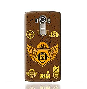 LG G4 Stylus TPU Silicone Case With 4 X 4 Off Road Design