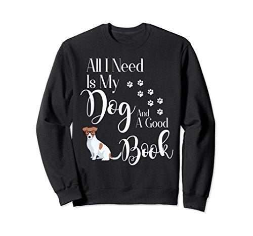 Sweatshirt I love My Dog Book Reading ()