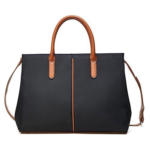 Lecxci - Black Cloth Bag Woman