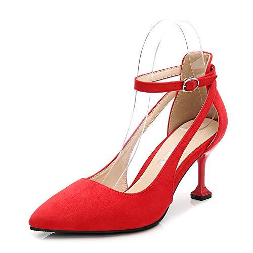 36 5 Rouge Maix96550 Renly Escarpins EU Femme pour Red Yxfg0