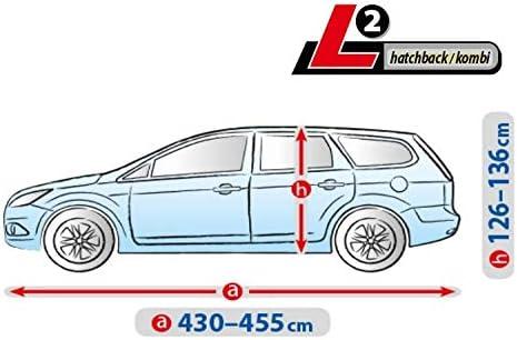 Autoplane ATMI L2 atmungsaktiv kompatibel mit Audi A4 Avant B5 autoschutz Abdeckung