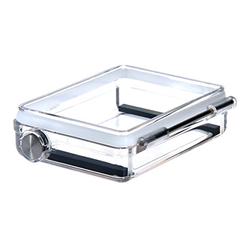 Sametop Waterproof BacPac Backdoor Compatible with GoPro Hero4 Black, Hero4 Silver, Hero3+ Cameras Standard Housing