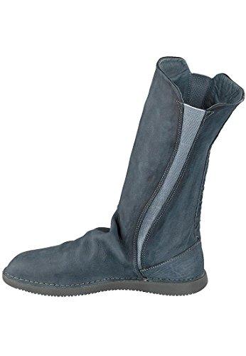 Softinos Damen Teya328sof Washed Leather Stiefeletten Blau