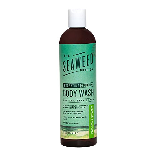 The Seaweed Bath Co. Body Wash, Eucalyptus & Peppermint (Gel Citrus Shower Mint)