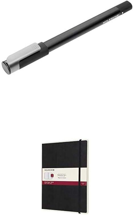 Nero Moleskine Ellipse Pen+ Penna Smart per Scrittura Large Moleskine 2019 Agenda Settimanale Smart Paper Tablet 12 Mesi con Spazio per Note