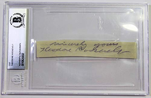 Buy theodore roosevelt signed
