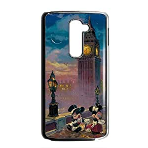 Mickey Mouse under tower Cell Phone Case for LG G2