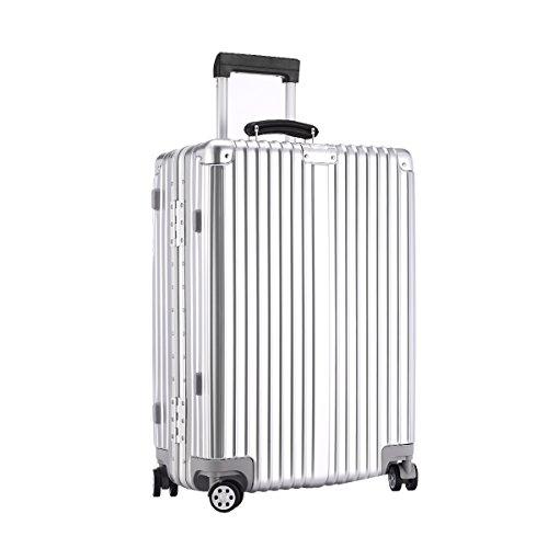URSTAR Aluminium Frame Luggage TSA Approved Spinner Wheels (20