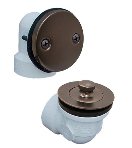 Plumbest B07-13RB Two-Hole Schedule 40 Lift and Turn Full Kit, Oil Rubbed - Schedule Lift Hole 40