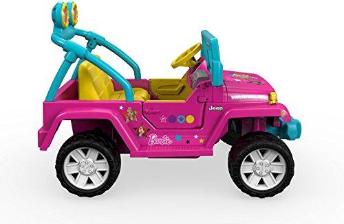 41ZHFOKgv2L - Power Wheels Barbie Jeep Wrangler