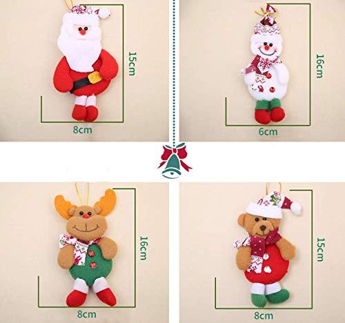 Shanke 3 Piezas de Bolso Bolso del Caramelo Bolsos de Dulces de Pap/á Noel para Ni/ños Almacenamiento de Dulces de Navidad del /Árbol Party de Decoraci/ón de Accesorios
