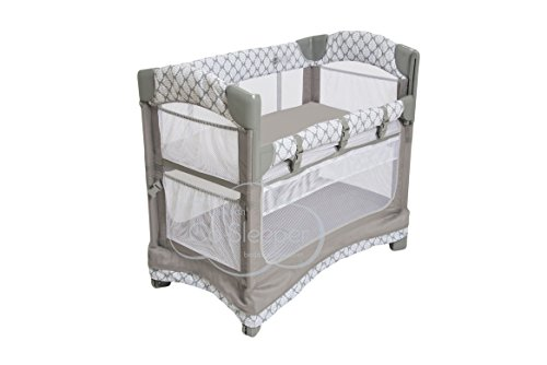 Image of the Arms Reach Concepts Inc. Mini Ezee 3 In 1 - Acanthus, Grey