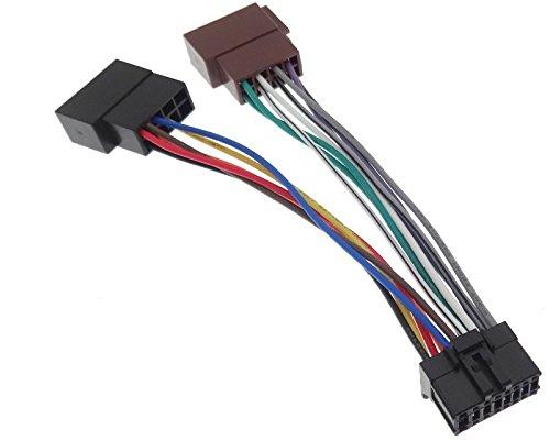PIONEER (12) Autoradio Kabel Radio Adapter Stecker ISO ...