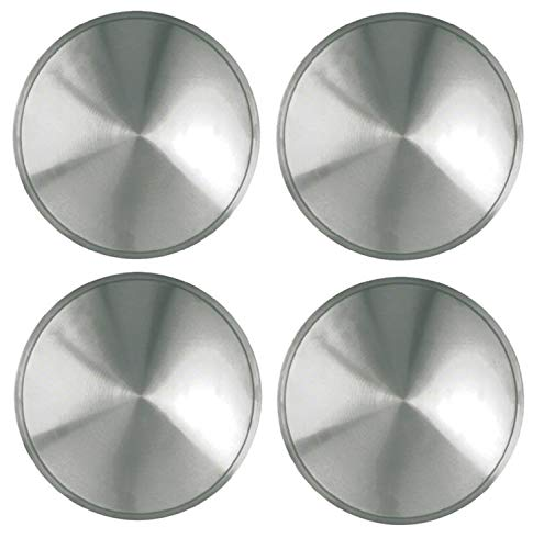 Racing Disc - Set of 4 Stainless Steel 16 Inch Full Moon Racing Discs with Metal Clip Retention System - Part Number: IWCRD/16