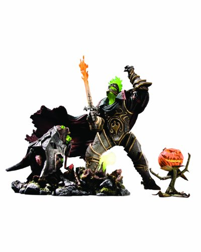 DC Unlimited World of Warcraft Premium Series 4: Hallow's End Nemesis: The Headless Horseman Action Figure