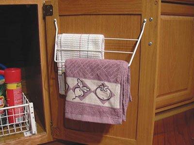 Rev A Shelf 563 32 Towel Holder White
