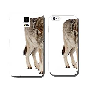 wolf. Isolated over white background cell phone cover case iPhone6 Plus