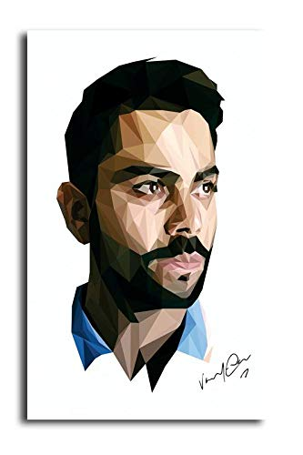 Pixel Artz Wall Poster Virat Kohli Hd Quality Poster