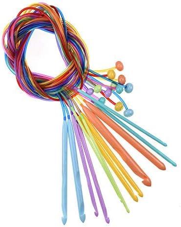 Choose Length /& Bead Size 5.5mm 1 Pair Beaded Bamboo Knitting NeedlesCrochet Hook us size 9