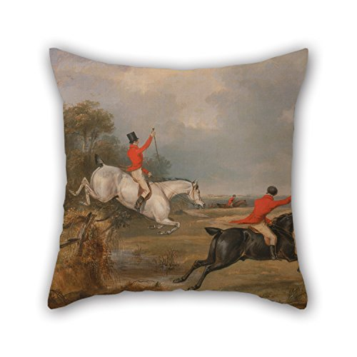 Vera De Milo Costume (Loveloveu Throw Pillow Covers Of Oil Painting Francis Calcraft Turner - Bachelor's Hall- Breaking Cover 16 X 16 Inches / 40 By 40 Cm,best Fit For Birthday,dining Room,club,chair,christmas,pub Each)