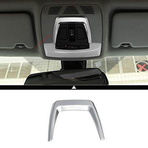 1Pcs Car Sunroof Light Control Panel Frame Trim Modification Decorative Accessories for BMW 3 Series F30 F31 F34 2013 2014 2015 2016 2017 2018 X5 F15 X6 F16 2014 2015 2016 2017 2018 ABS Chromeplate ()