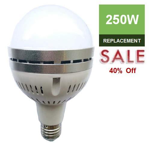 LC LED 250W-200W 高出力LED電球 40W 3650ルーメン 温度 (3000K) ホワイト メタルハロゲン化 CFL&ハロゲン電球交換 調光不可 B07L4N9KVB