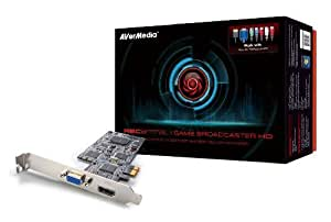AVERMEDIA Game Broadcaster HD Record and Stream PC, Xbox 360, PS3, Wii and iPad2 in 1080p60 TV Tuners and Video Capture C127 Black