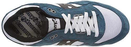 Saucony 5000 De black white Mixte Gymnastique Chaussures teal Adulte Vintage Shadow 5 Turquoise rgq5r