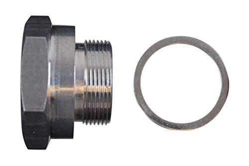 - LS Engine Block Coolant Threaded Drain Plug LS1 LS2 LS3 L92 LQ4 LQ9 LSX M28 Freeze 551245