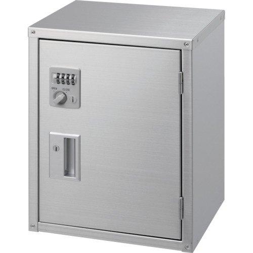 テラオカ 簡易型保管庫 SNX-400 10-1305-65 保管庫(ステンレス製(SUS430)) B0795CT9DH