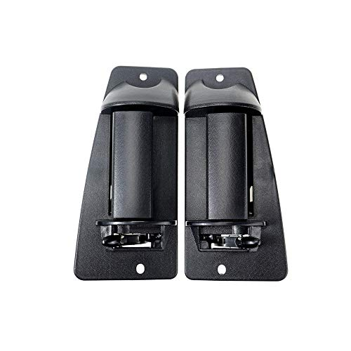 Door Handle Replacement for 99-07 Chevy Silverado GMC Sierra Extended Cab (Right+Left)