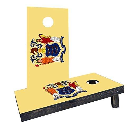 格安即決 Custom Cornhole Boards Boards Flag Incorporated CCB230-2x4-C-RH New Jersey State Flag Boards Cornhole Boards [並行輸入品] B07HLHQLP2, 養老郡:1c12d374 --- arianechie.dominiotemporario.com