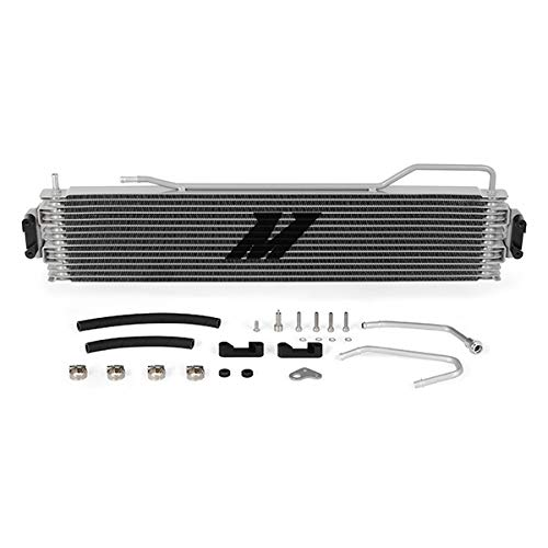 Mishimoto MMTC-K2-14 Transmission Cooler Compatible With Chevrolet Silverado 2014-2018 Silver