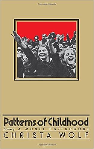 Amazon com: PATTERNS OF CHILDHOOD (9780374518448): CHRISTA WOLF: Books