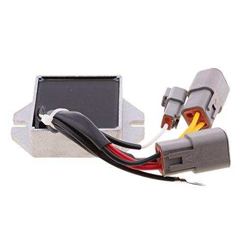 Homyl Aluminum Alloy Voltage Regulator Replacement for Ski-Doo 600 HO SDI Replaces OEM# 515176243