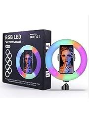 RGB LED Soft Ring light mj 26, black