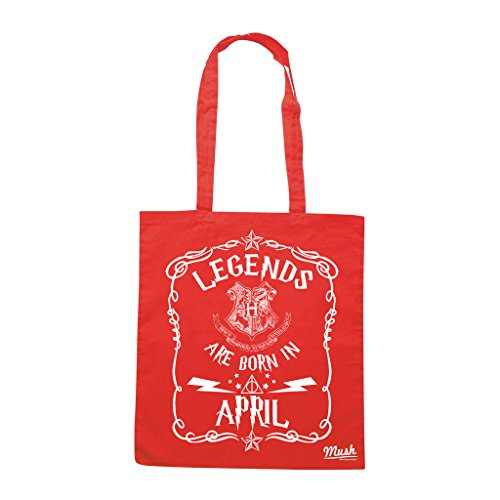 Borsa HARRY POTTER COMPLEANNO APRILE - Rossa - FILM by Mush Dress Your Style