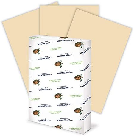 Amazon Com Hammermill Tan Colored 20lb Copy Paper 11x17 Ledger Size 1 Ream 500 Total Sheets Made In Usa Sustainably Sourced From American Family Tree Farms Acid Free Pastel Printer Paper 102376r