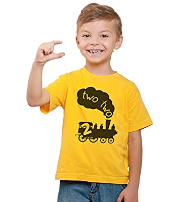 """Funny 2 Year Old T-Shirt """"Two Two Train"""" Newborn/Todder/Youth - Funny Threadz"""
