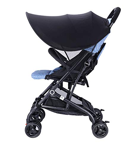 Stroller Sun Shade Universal Extender, Awning Canopy, Infant Pram UV Protection Cover, Rayshade, Weather Shield, Waterproof, Sunshade - Rayshade Uv Protection