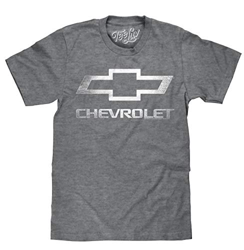 Chevrolet Logo T-Shirt | Soft Touch Fabric-Medium,Graphite Heather