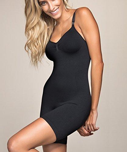 Funcional Fashion Mujer biopromise anti celulitis cuerpo largo Shaper Beige