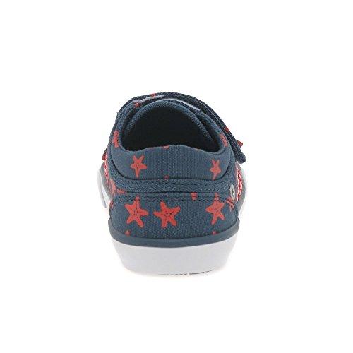 Zip de Navy Start Toile Chaussures Canvas Rite Startrite enfant Kids Fx1xEqwp