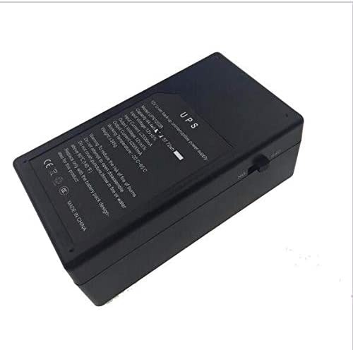 Jimin/_12V1A 14.8W Mini UPS Battery Backup Security Standby Power Power Supply Uninterruptible Power Supply